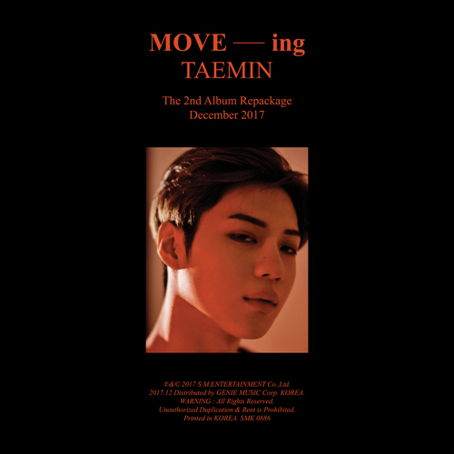 Taemin (TAEMIN) - Regular 2th Repackage [MOVE-ing]