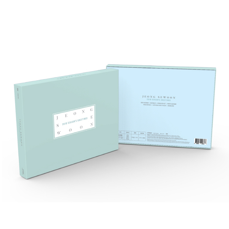JEONG SE WOON 2018 SEASON'S GREETINGS (2018 season greeting)