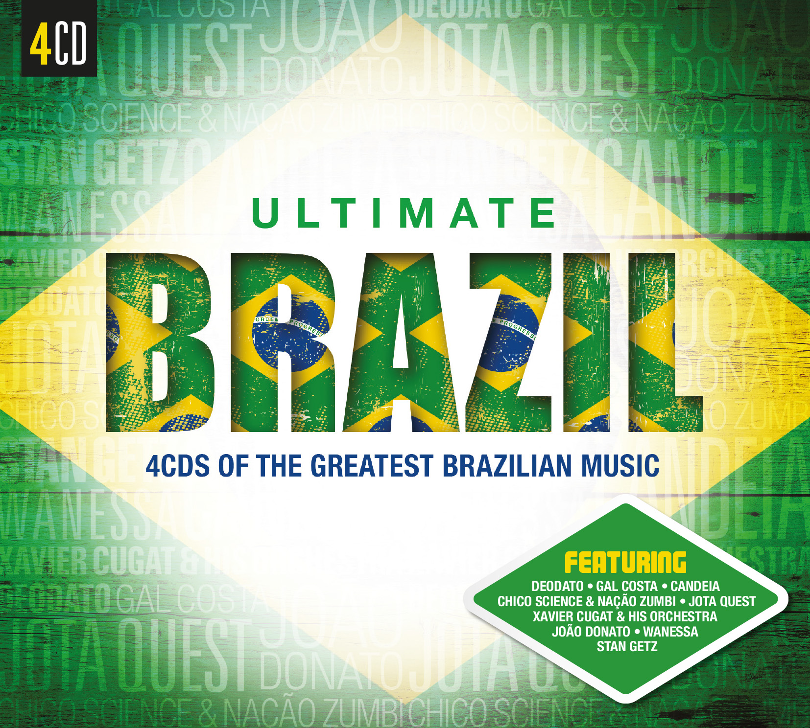 ULTIMATE BRAZIL (얼티미트 브라질) - 4CDS OF THE GREATEST BRAZILIAN MUSIC <4 FOR 1>