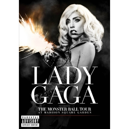 LADY GAGA - LADY GAGA PRESENTS : THE MONSTER BALL TOUR AT MADISON SQUARE GARDEN (1 DISC)