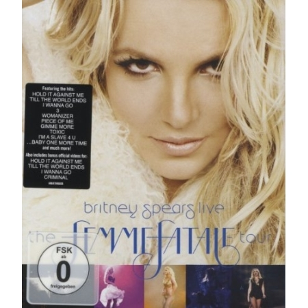 BRITNEY SPEARS - THE FEMME FATALE TOUR (1 DISC)