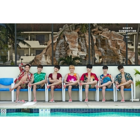 아이콘 (IKON) - KONY'S SUMMERTIME PHOTOCARD COLLECTION