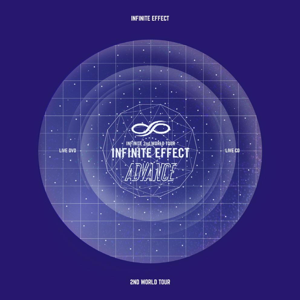 인피니트 (INFINITE) - INFINITE EFFECT ADVANCE LIVE (2DVD + 2CD)