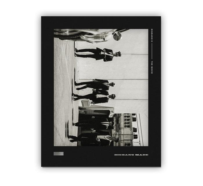BIGBANG (빅뱅) - BIGBANG10 THE MOVIE BIGBANG MADE DVD FULL PACKAGE BOX