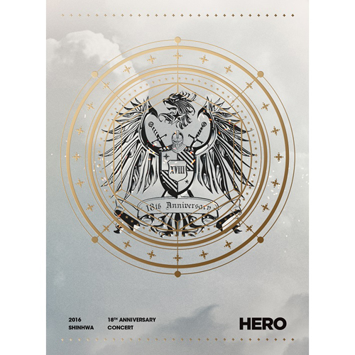 신화(SHINHWA) - 2016 SHINHWA 18TH ANNIVERSARY CONCERT HERO DVD