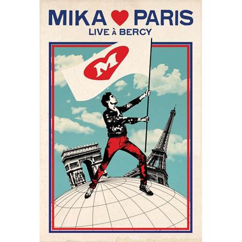 MIKA (미카) - [MIKA♥PARIS (Live At Bercy)] (Bercy 공연 실황 DVD)