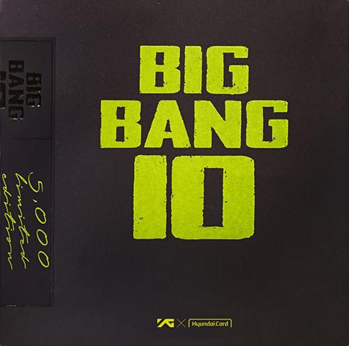 BIGBANG (빅뱅) - BIGBANG10 THE VINYL LP: LIMITED EDITION [반품불가 / BIGBANG10 핸드크림 증정]