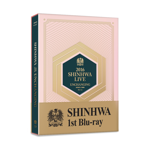 신화(SHINHWA) - 2016 SHINHWA LIVE  UNCHANGING Blu-ray