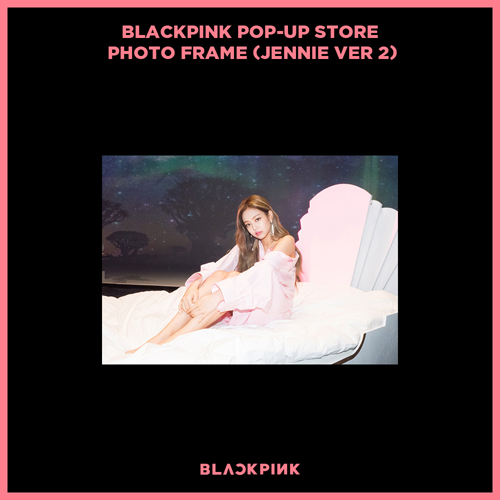 블랙핑크 (BLACKPINK) - BLACKPINK POP-UP STORE PHOTO FRAME (JENNIE VER 2)