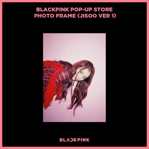 블랙핑크 (BLACKPINK) - BLACKPINK POP-UP STORE PHOTO FRAME (JISOO VER 1)