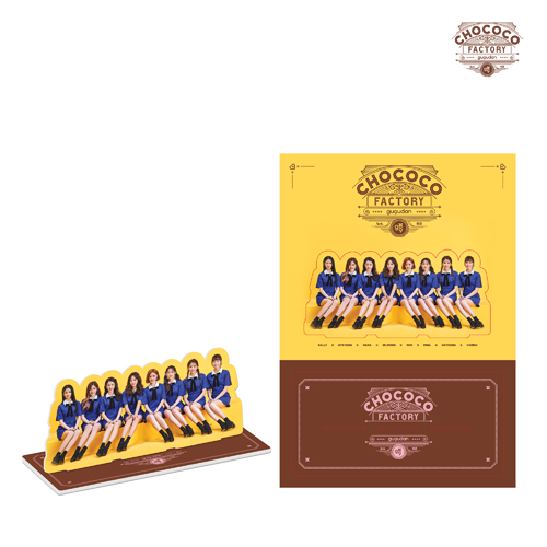 구구단 - Act.3 Chococo factory [등신대 / PHOTO STAND]