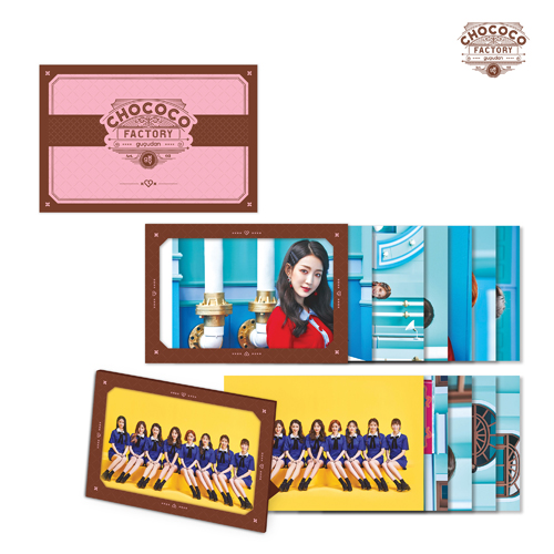 구구단 - Act.3 Chococo factory [엽서 프레임 세트 / POST CARD FRAME SET]