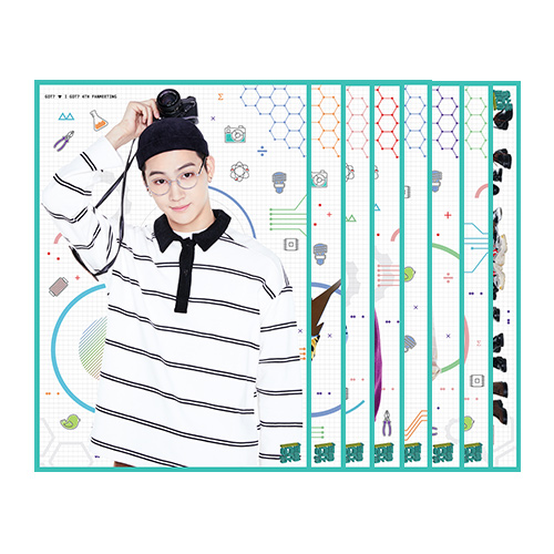 GOT7(갓세븐) - BROMIDE SET(브로마이드 세트)[GOT7 ♥ I GOT7 4TH FANMEETING]