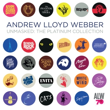 ANDREW LLOYD WEBBER - UNMASKED : THE PLATINUM COLLECTION [2CD]