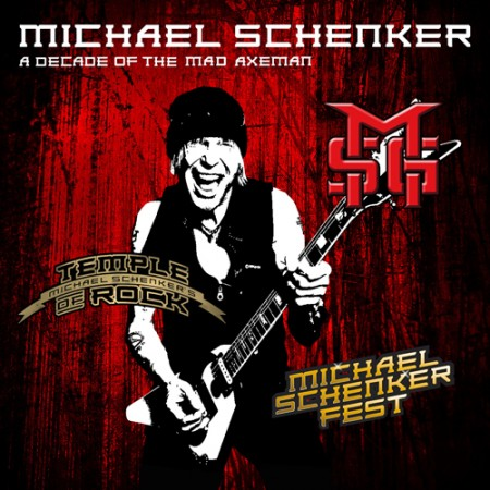 마이클 쉥커 (MICHAEL SCHENKER) - A Decade Of The Mad Axeman (2CD)
