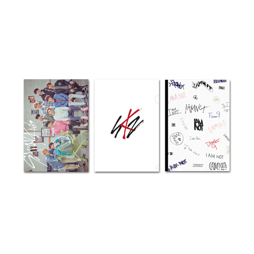 Stray Kids (스트레이 키즈) - 2018 OFFICIAL GOODS [클리어파일 & 미니노트 세트 / CLEAR FILE & MINI NOTE SET]