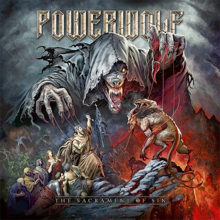 POWERWOLF - THE SACRAMENT OF SIN (2CD DELUXE EDITION)
