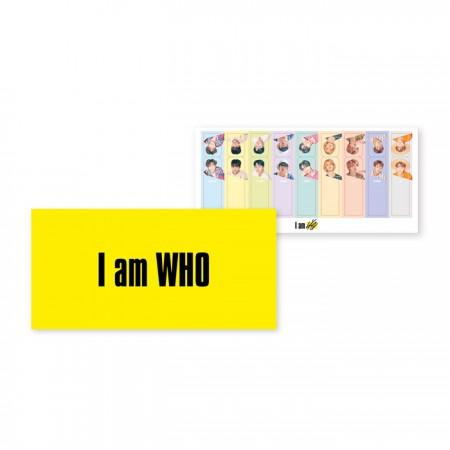 Stray Kids(스트레이 키즈) - UNVEIL [Op. 02 : I am WHO] / REMOVAL STICKER SET (리무벌 스티커 세트)