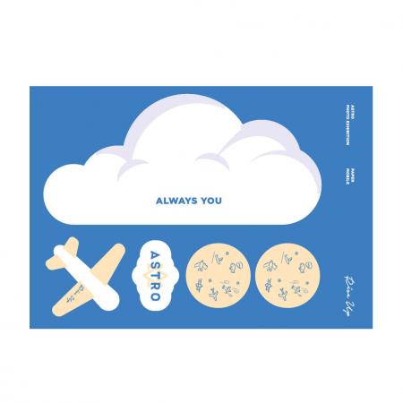 아스트로(ASTRO) - PHOTO EXHIBITION OFFICIAL GOODS / 종이 모빌 (PAPER MOBILE)