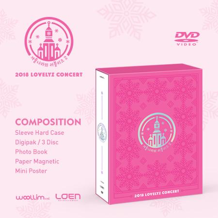 러블리즈(LOVELYZ) - 2018 LOVELYZ CONCERT [겨울나라의 러블리즈2] DVD