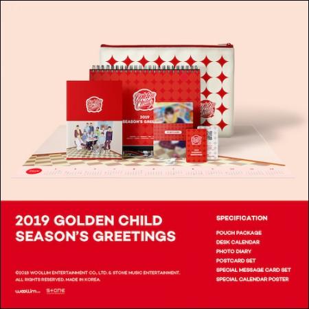 골든차일드 (GOLDEN CHILD) - [2019 시즌그리팅] (2019 GOLDEN CHILD SEASON'S GREETINGS)