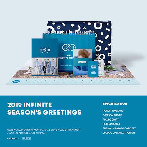 인피니트 (INFINITE) - [2019 시즌그리팅] (2019 INFINITE SEASON'S GREETINGS)