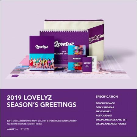 러블리즈 (LOVELYZ) - [2019 시즌그리팅] (2019 LOVELYZ SEASON'S GREETINGS)