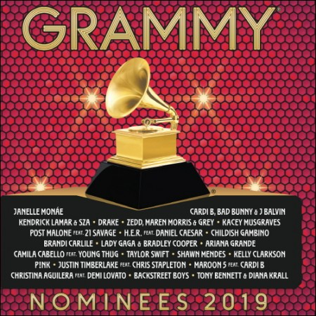 2019 Grammy Nominees (2019 그래미 노미니스) (1CD)