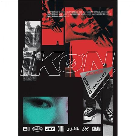 아이콘(iKON) - [iKON 2019 OFFICIAL CALENDAR ]