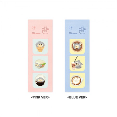 MON.G(몬지) - OFFICIAL GOODS / MAGNET BOOKMARK [PINK VER/BLUE VER] (마그넷 북마크)