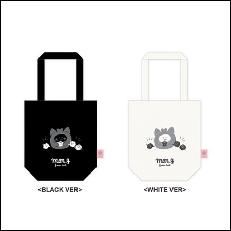 MON.G(몬지) - OFFICIAL GOODS / MINI ECOBAG [BLACK VER/WHITE VER] (미니 에코백)