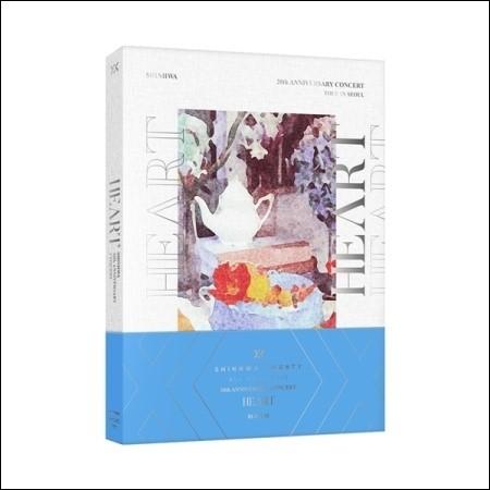 신화(SHINHWA) - 2018 SHINHWA 20TH ANNIVERSARY CONCERT [HEART] BLU-RAY (2 DISC)