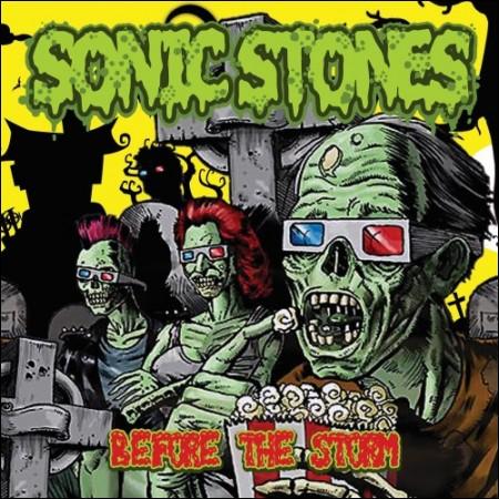 SONIC STONES(소닉 스톤즈) - 정규 2집 [Before The Storm]