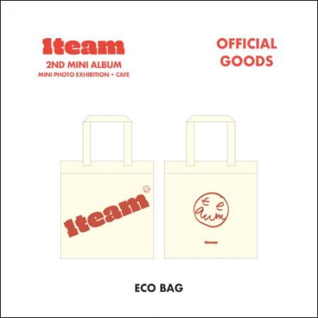 1team (원팀) - MINI PHOTO EXHIBITION+CAFE OFFICIAL GOODS [에코백(ECO BAG)]