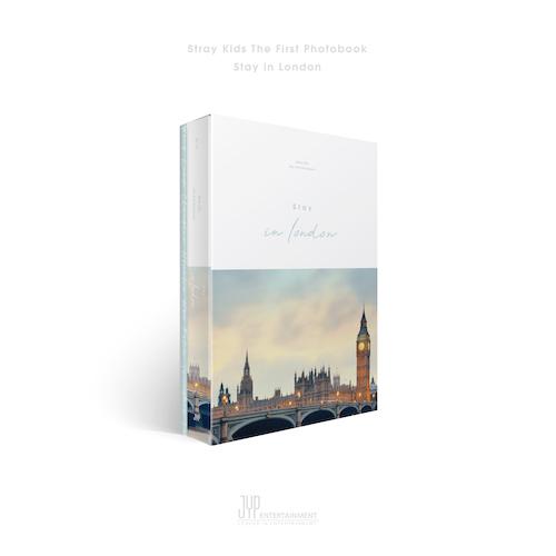 스트레이 키즈 (Stray kids) - Stray kids First Photobook [Stay in London]