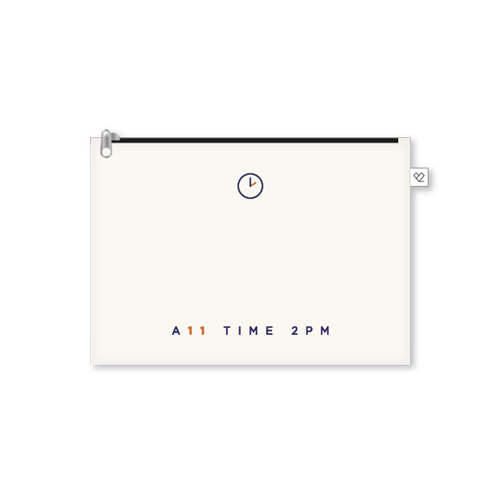 2PM - A11 TIME 2PM OFFICIAL MD / 파우치(POUCH)