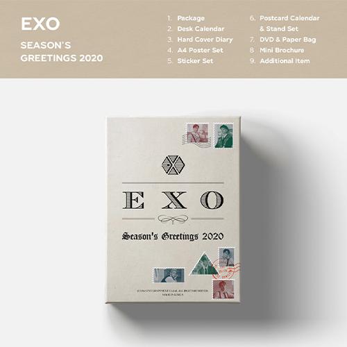 엑소(EXO) - [2020 시즌그리팅(SEASON'S GREETINGS 2020)]