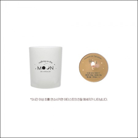 JUN. K(준케이) - [WALKING ON THE MOON] / MESSAGE CANDLE(메세지 캔들)