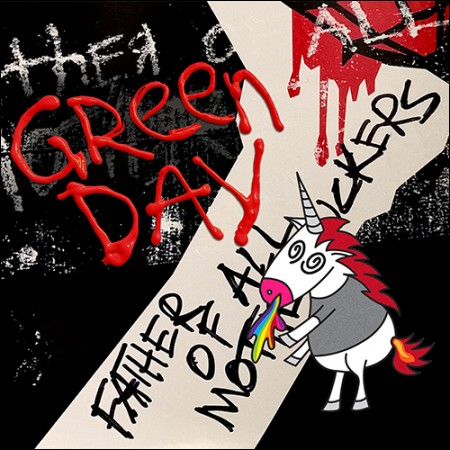 GREEN DAY(그린데이) - [FATHER OF ALL...] (EU 수입반)