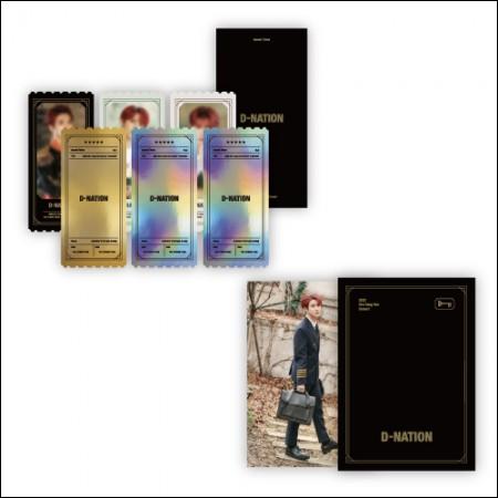 김동한(KIM DONG HAN) - [D-NATION] / SPECIAL TICKET SET(스페셜 티켓 엽서 세트)