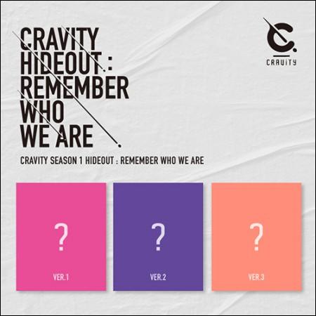 [세트] CRAVITY(크래비티) - CRAVITY(크래비티) SEASON1. [HIDEOUT: REMEMBER WHO WE ARE]