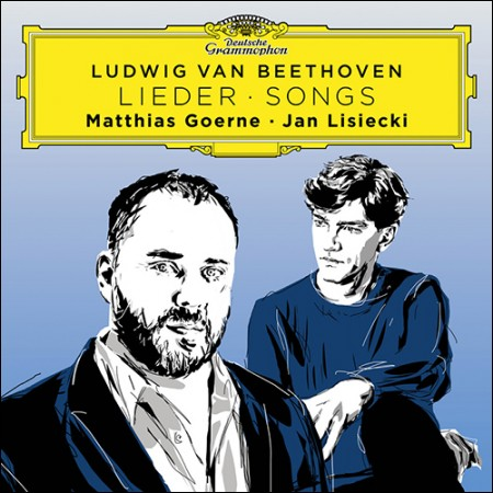 MATTHIAS GOERNE, JAN LISIECKI(괴르네, 리시에츠키) - [베토벤 가곡 작품집]