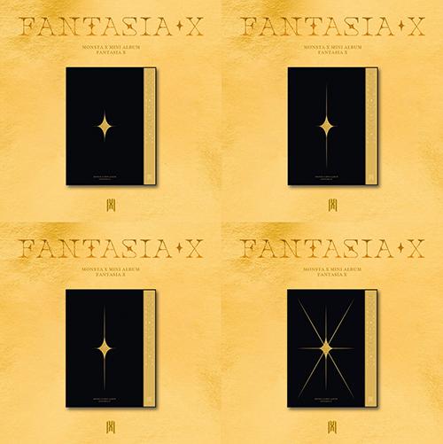 [이벤트응모] 몬스타엑스(MONSTA X) - 미니 [FANTASIA X] (버전 4종 중 랜덤)