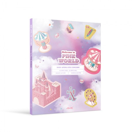 에이핑크 6TH CONCERT DVD - [WELCOME TO PINK WORLD]