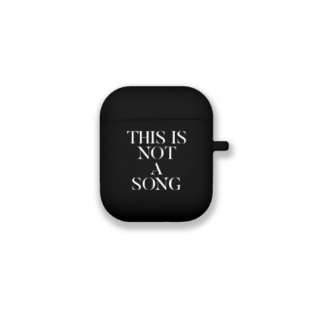 JUN. K (준케이) - [THIS IS NOT A SONG] / AIRPODS CASE (에어팟 케이스)