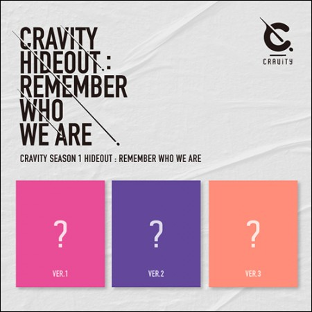 CRAVITY(크래비티) - CRAVITY(크래비티) SEASON1. [HIDEOUT: REMEMBER WHO WE ARE] (버전 3종 중 랜덤)