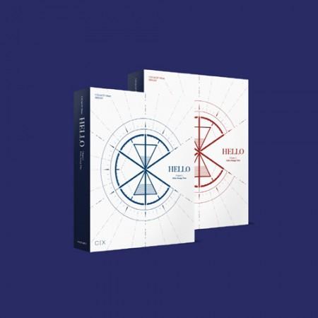 [세트] CIX 3rd EP  - ['HELLO' Chapter 3. Hello, Strange Time]