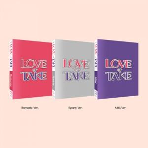 [세트] 펜타곤 - 미니 11집 [LOVE or TAKE] (Romantic / Sporty / Mild Ver.)