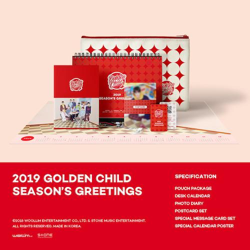 Golden Child (GOLDEN CHILD)-[2019 Season's Greetings] (2019 GOLDEN CHILD SEASON'S GREETINGS)