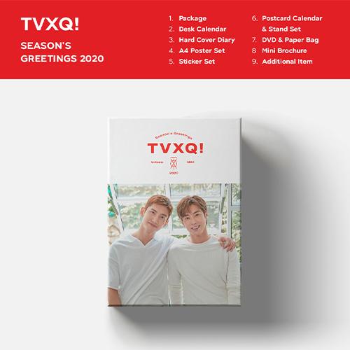 TVXQ!-[SEASON'S GREETINGS 2020]